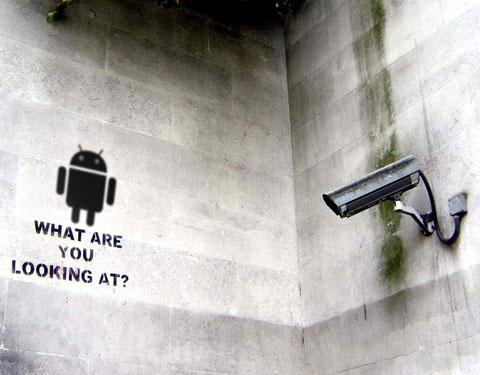 Android on CCTV